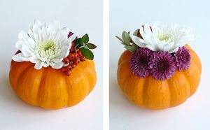 mini pumpkin vase