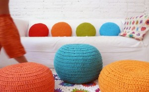 Aqua-Roped-Cotton-Pouf-Ottoman