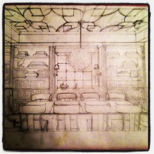Dining Room Sketch