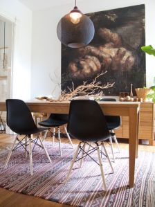eames wooden table 2
