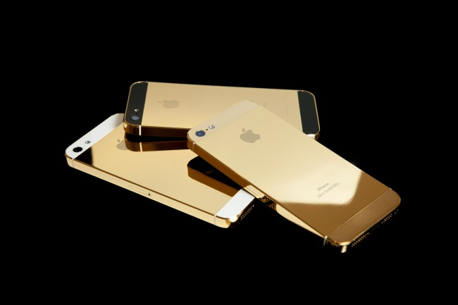 gold apple iphone