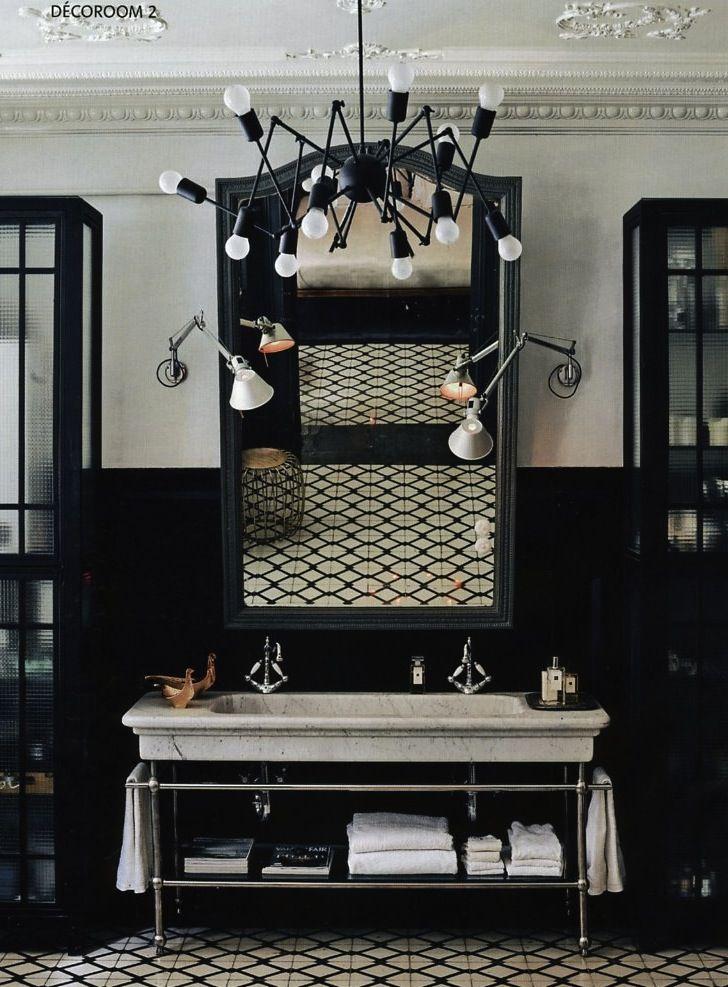 black bathroom 2