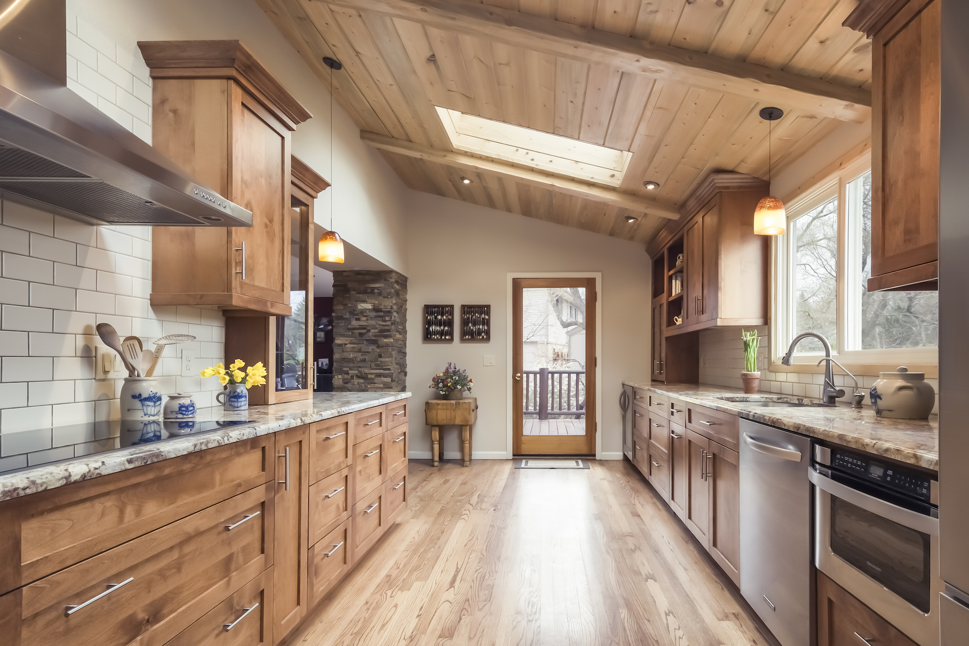 Before And After Mountain Modern Kitchen Transformation