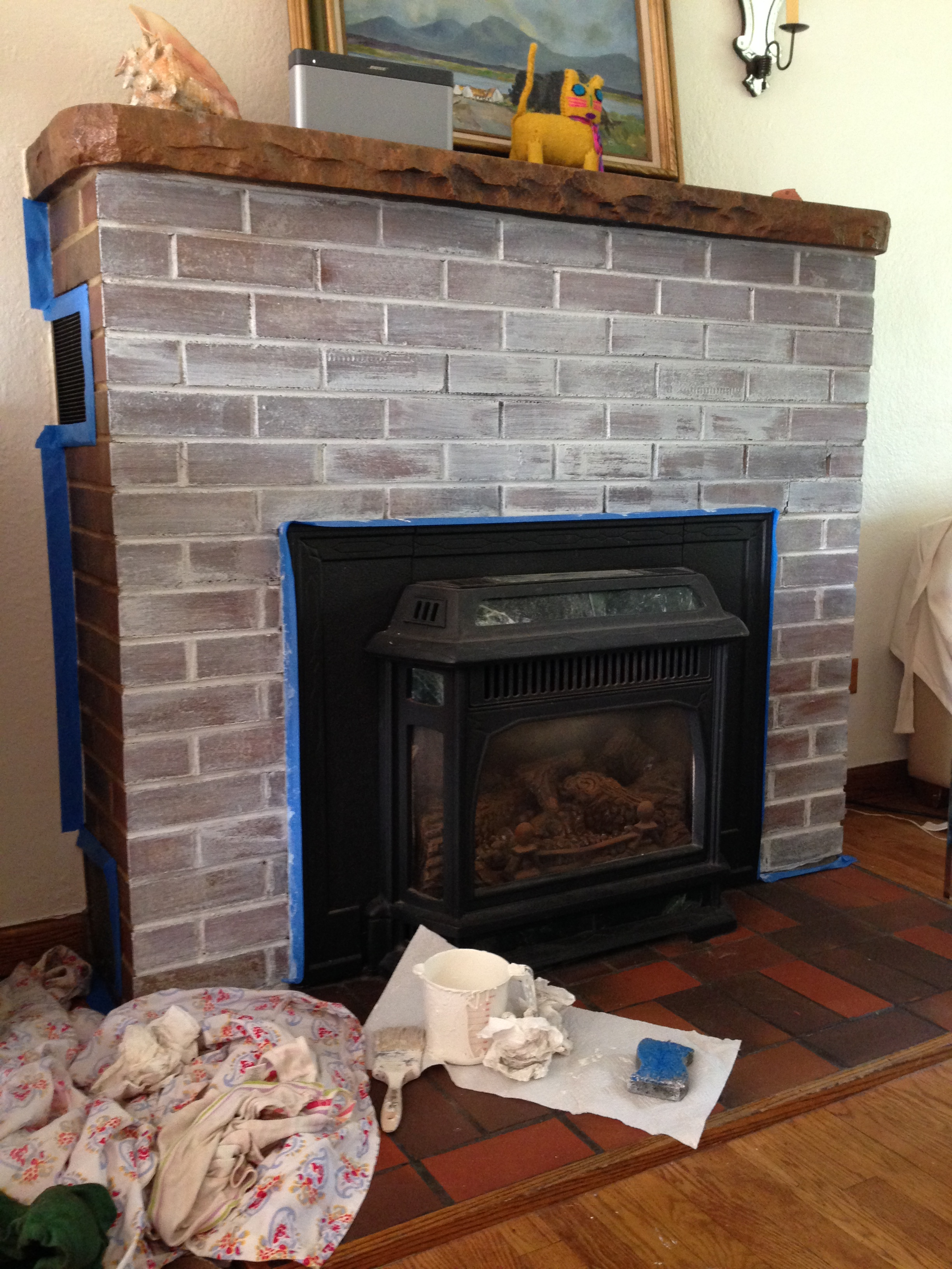 the hopeful brick fireplace part 1 u2013 the colorado nest