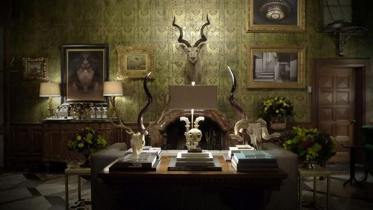 Classic With A Touch Of The Strange The Set Of Hannibal