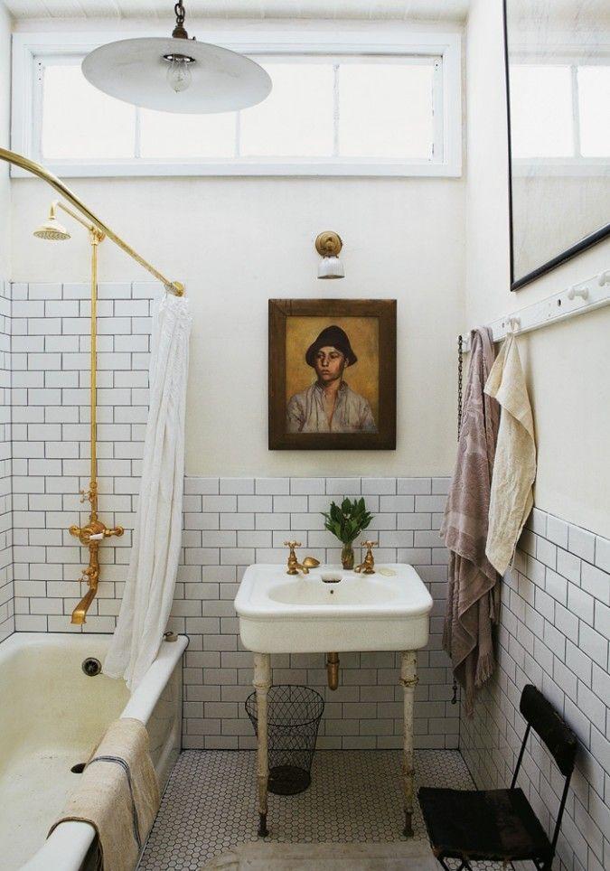 Art above a sink
