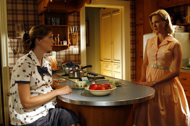 betty draper kitchen