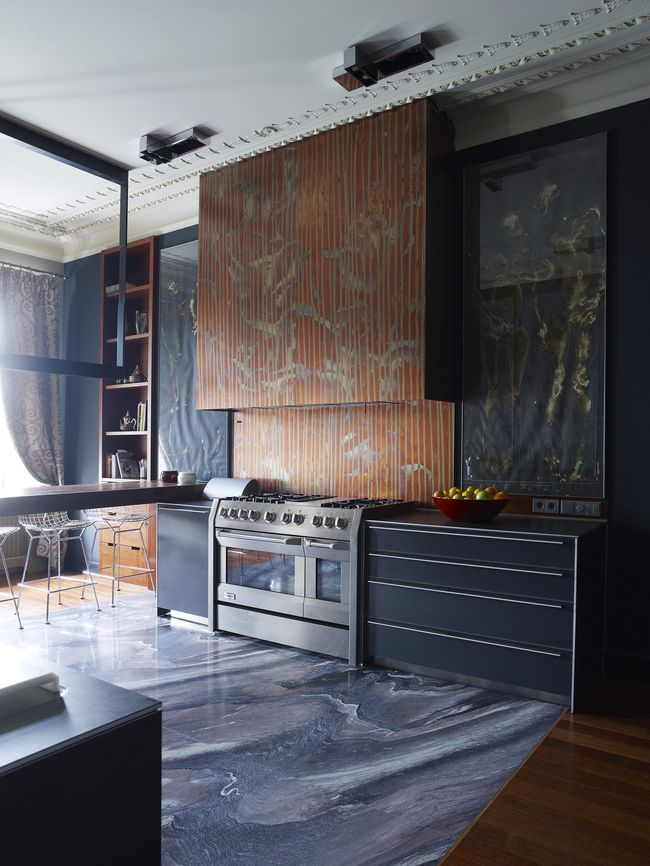 chinoiserie kitchen