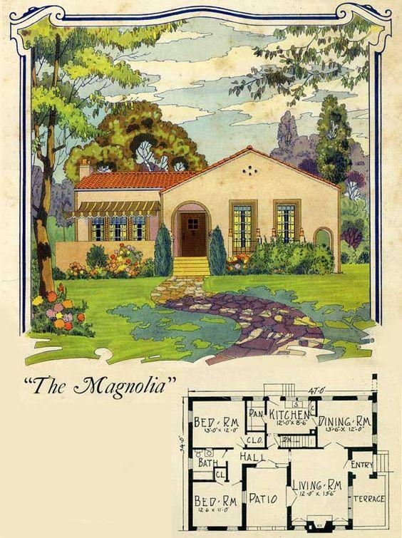 1925 spanish style home