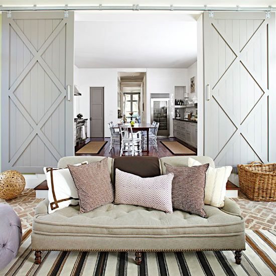 Adding barn doors to a room