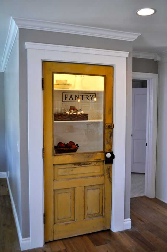 Old pantry door charm