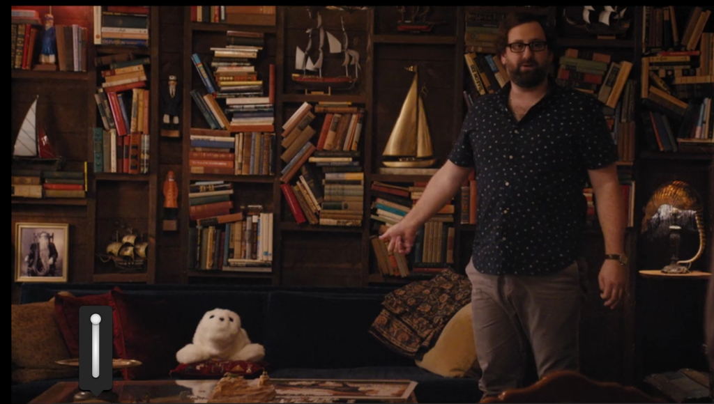arnolds bookshelves master of none