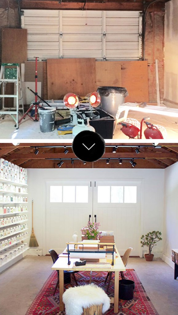 Before and After Garage Conversion