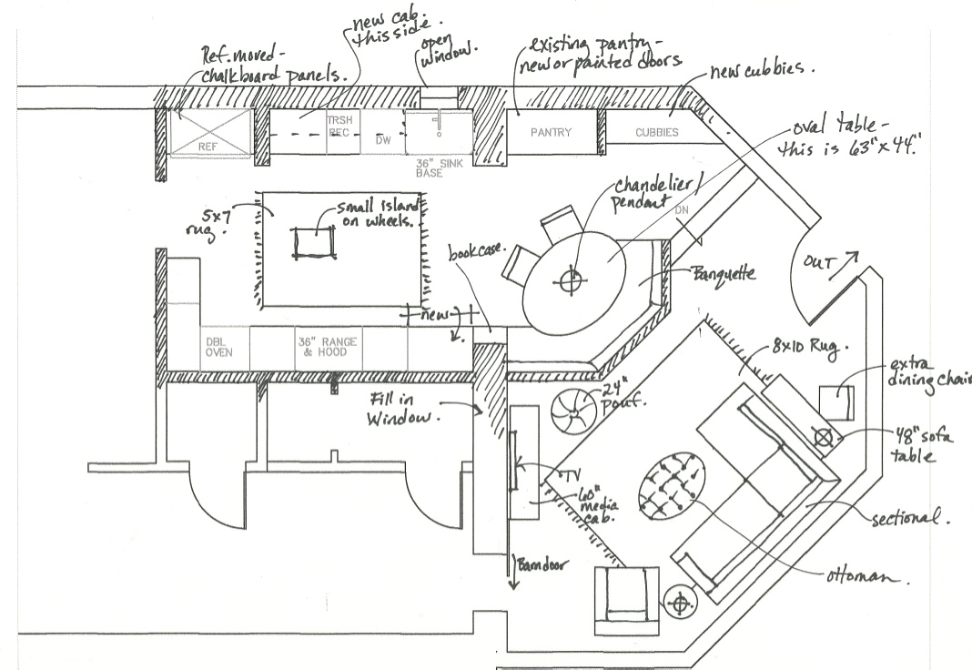 floor plan for small room