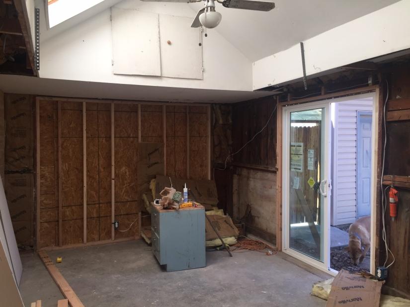 Garage renovation story