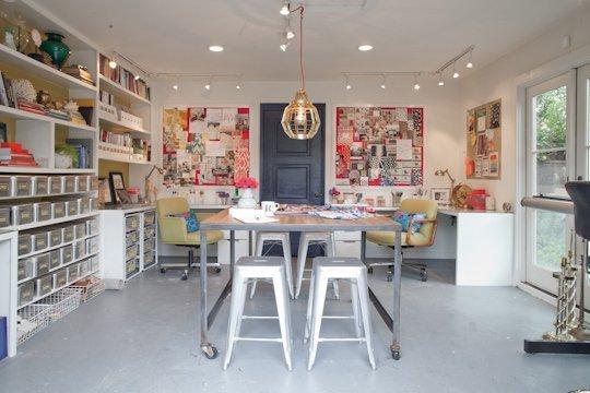 Interior Design Studio garage