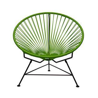 Green hoop chair