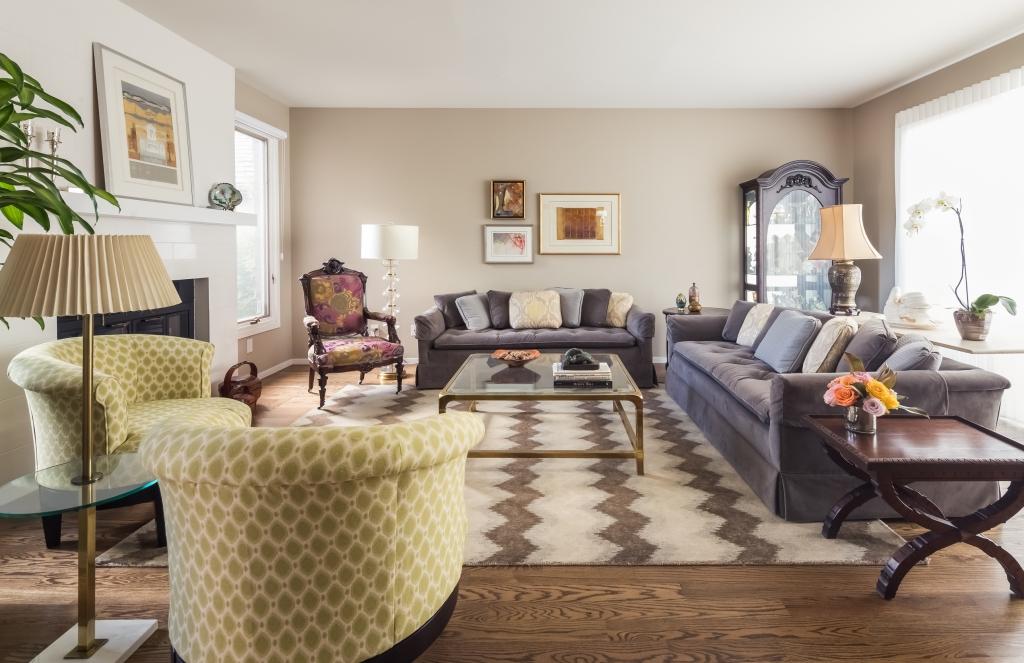 eclectic living room denver