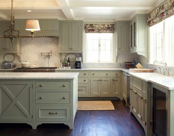 soft-green-kitchen-cabinets