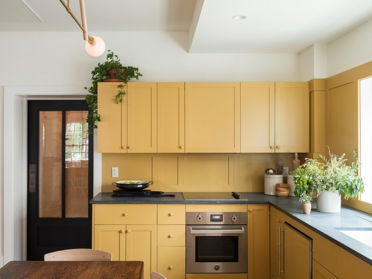 Beyond The Pale: Painted Kitchen Cabinets Now And Then