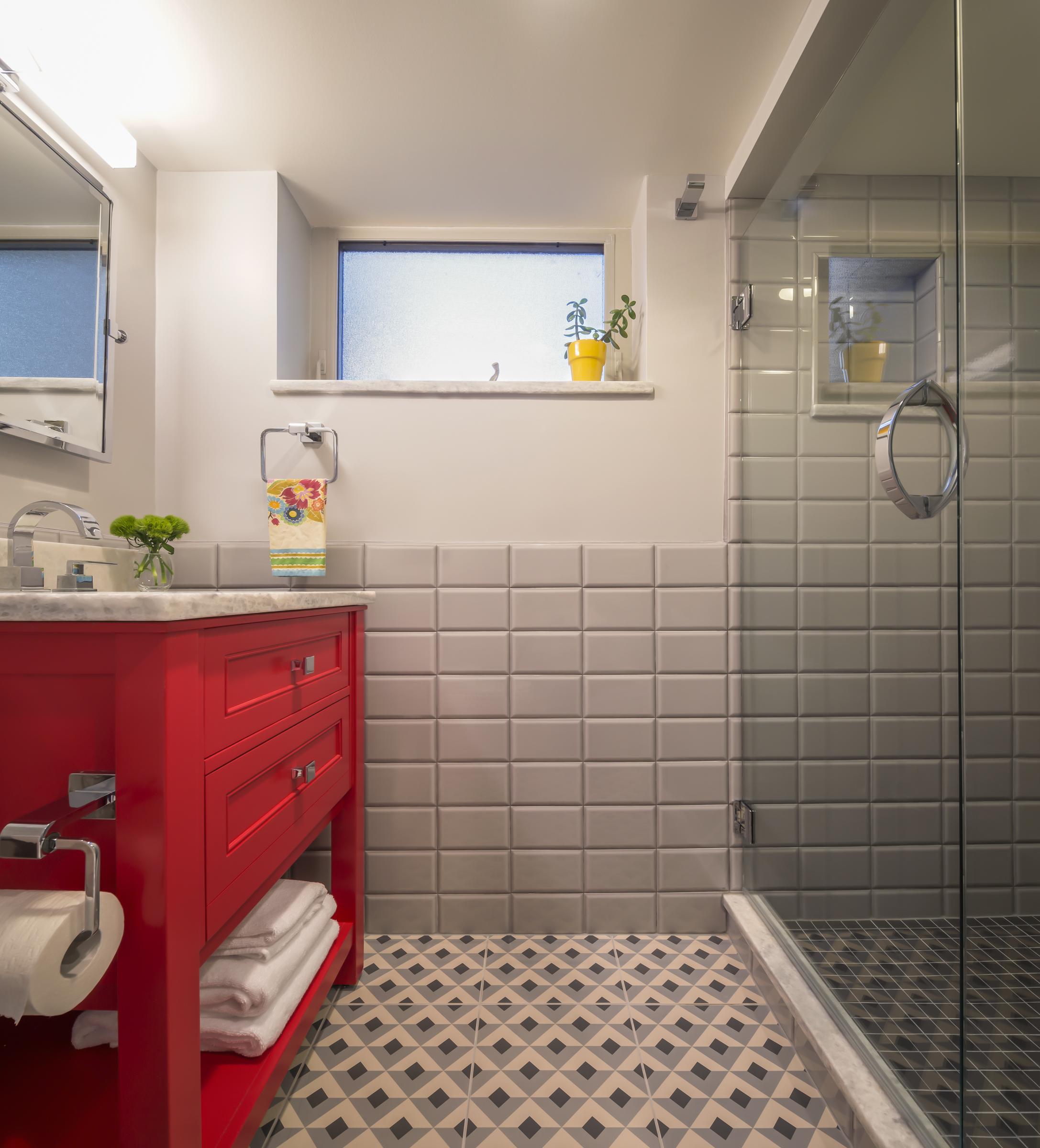 ... Basement Bathroom Modern