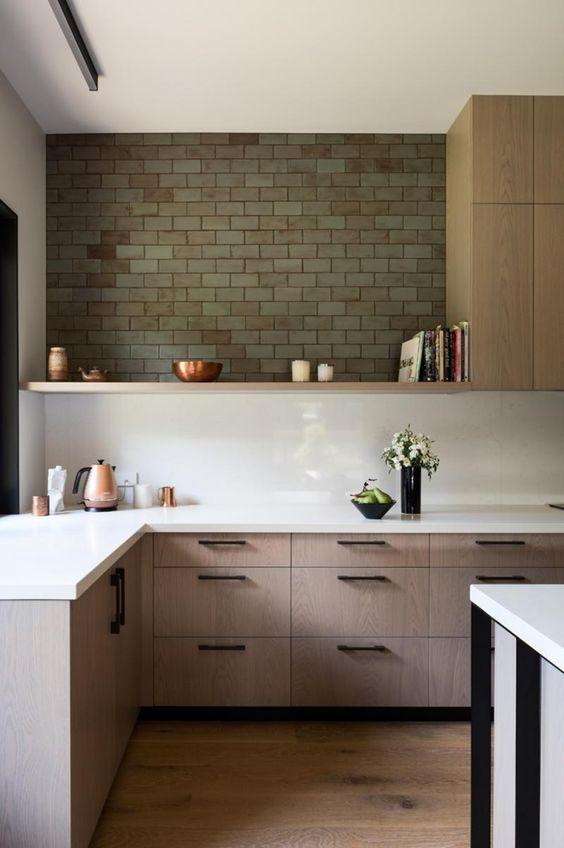 flat-front-kitchen-cabinet