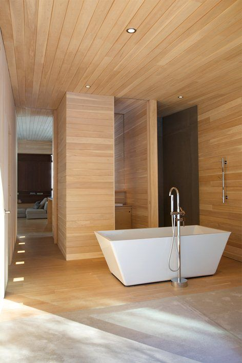 Songs From The Wood: 7 Bathrooms With Natural Wood – The Colorado Nest