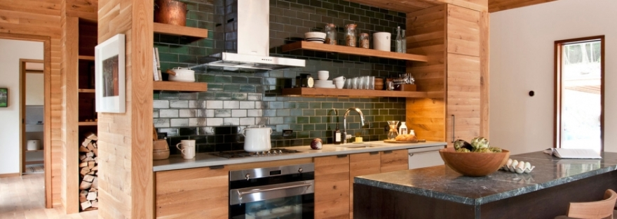 Kitchen Cabinet Trend 6 Kitchens With Slab Front Cabinet Doors The Colorado Nest