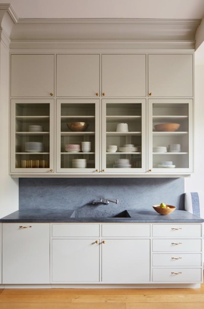 slab-front-cabinets