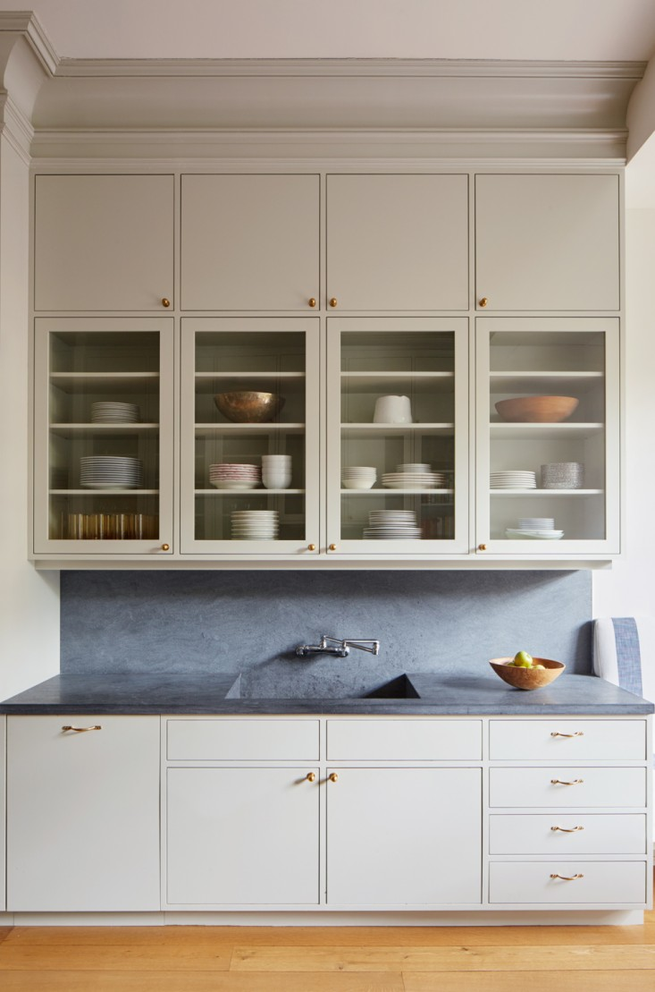 (Source) Slab Front Cabinets