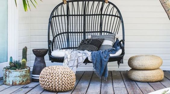 7 Stylish Hanging Chairs For Porch Sittin Season