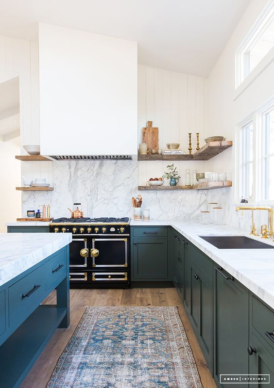 rip your upper cabinets out tonight 7 stylish kitchens with open shelving
