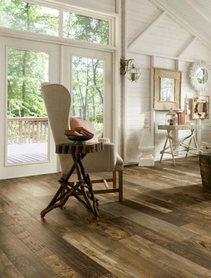 laminate reclaimed wood floor