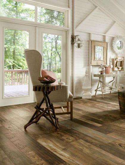 laminate reclaimed wood floor