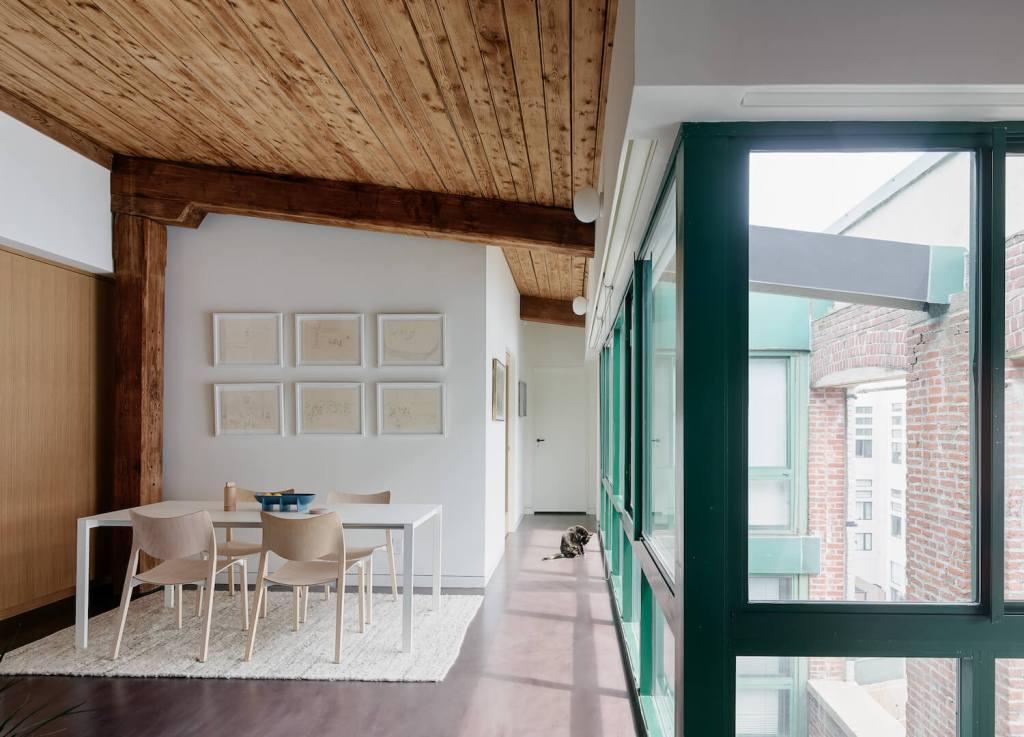loft dining room
