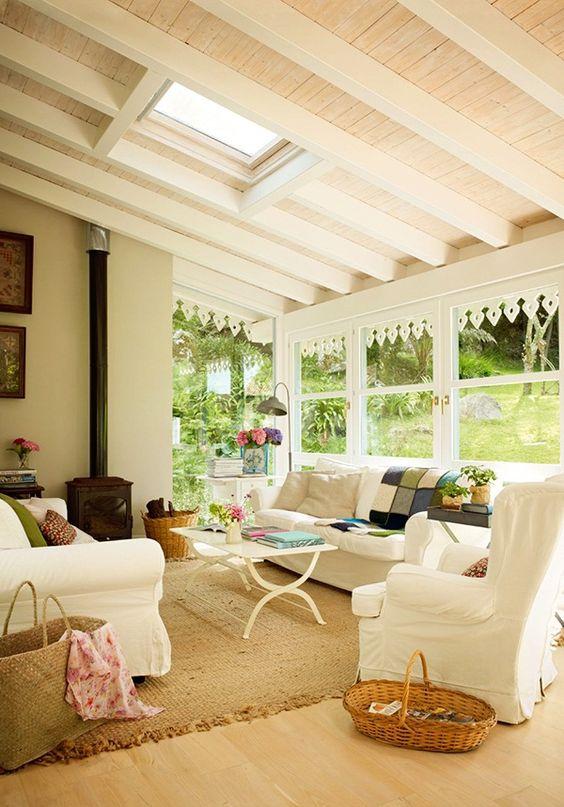 casual sunroom style