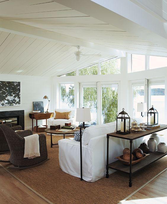 white interior ranch