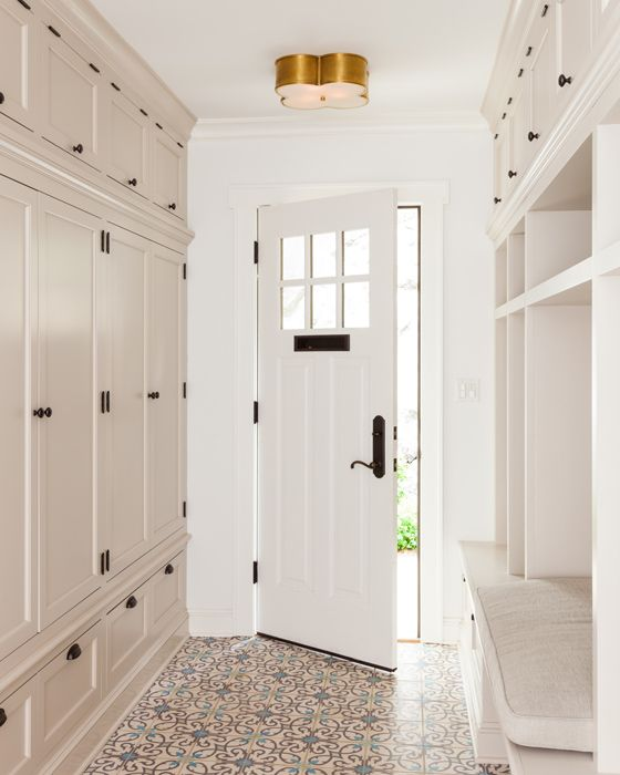 storage entry built in