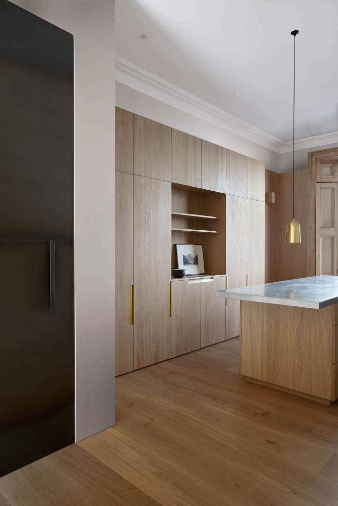 wood kitchen minimal