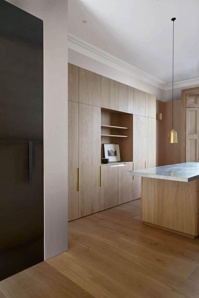 wood kitchen minimal