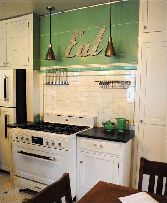 vintage 30s kitchen
