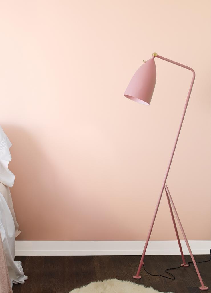 soft pink paint