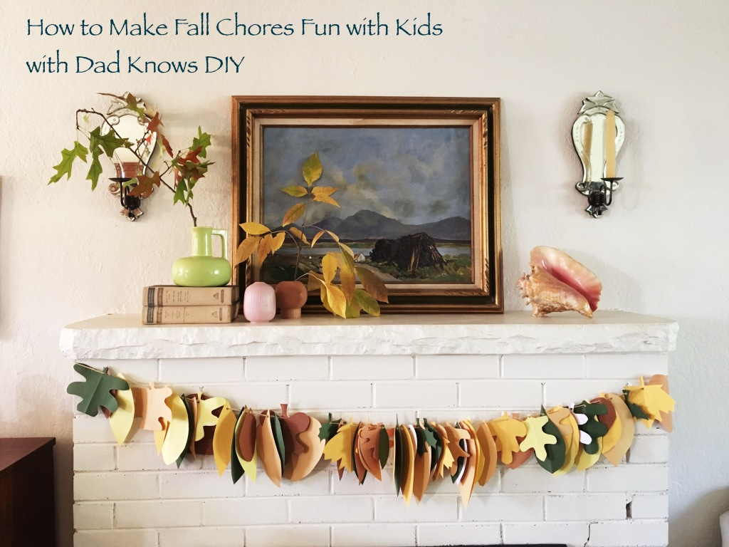 fall leaf garland diy
