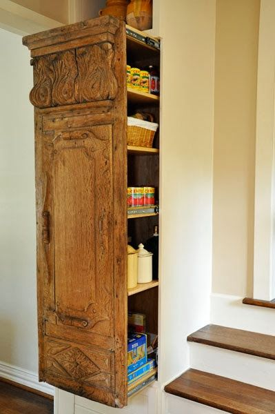 reclaimed piece hidden door.