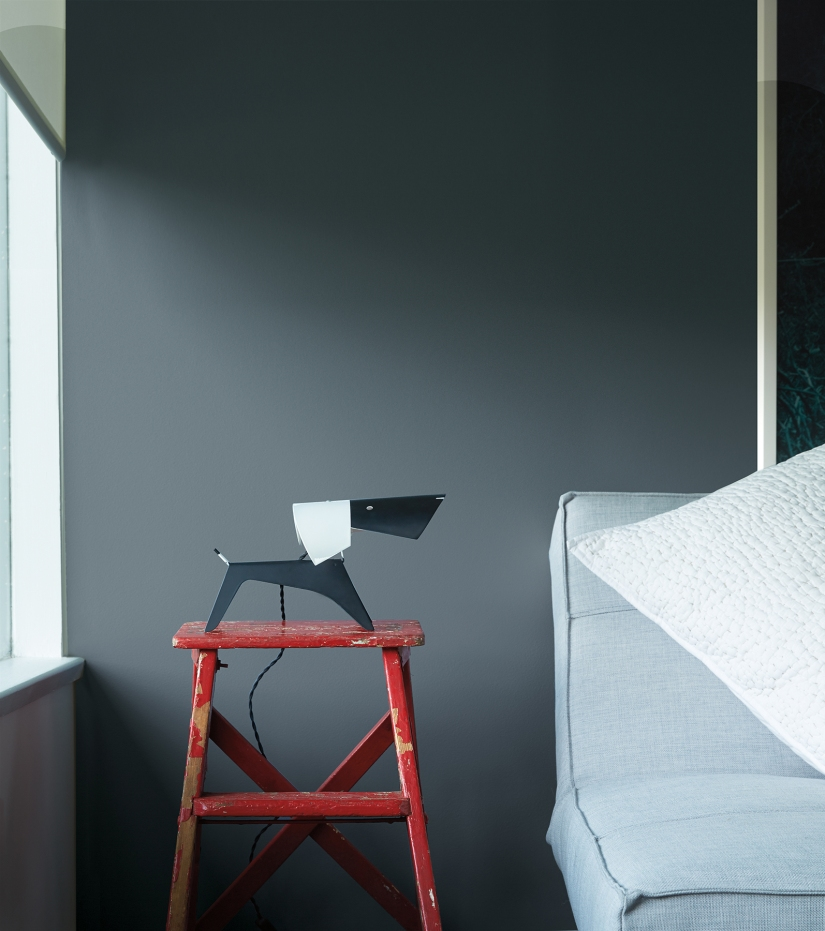 dark gray paint color