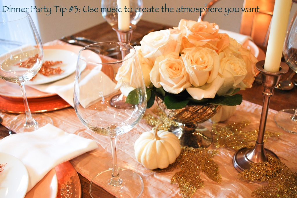 thanksgiving table setting warm colors