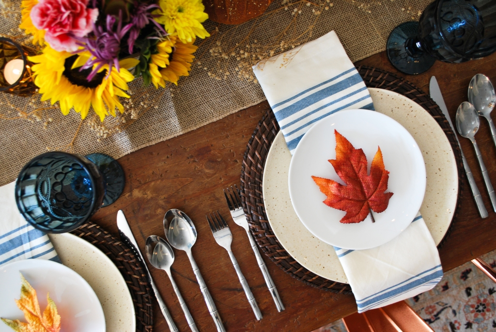 thanksgiving table setting idea