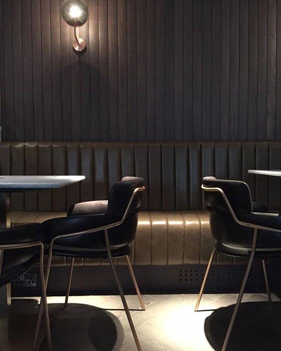 dark moody dining room