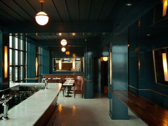 turquoise interior