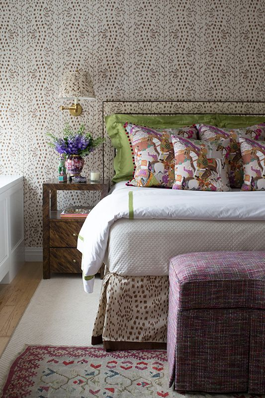 patterns in a bedroom